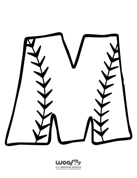baseball printable az coloring pages