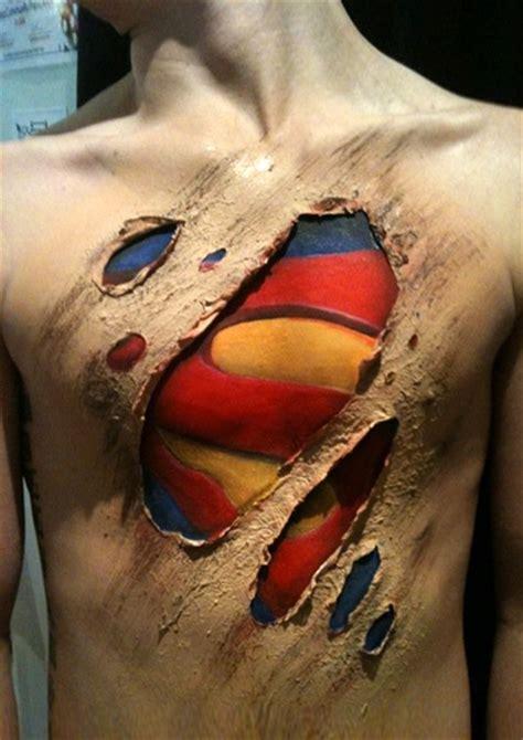 superman logo tattoo on chest 100 wonderful superman tattoos