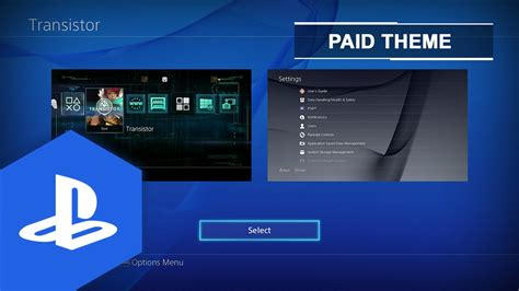 ps4 themes with sound themes with no sound ps4