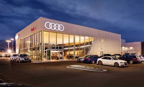 audi dealership design automotive curtis miner architecture