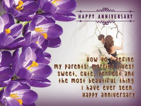 Wedding Congratulation Messages For Parents by Wedding Anniversary Messages For Parents Wordings And