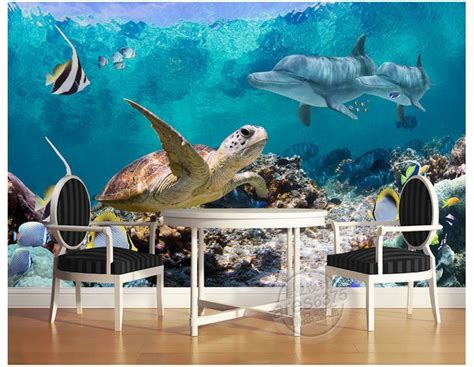 3d floor painting wallpaper underwater world mermaid 3d floor pvc 3d wallpaper custom mural beauty 3 d mural floor painting