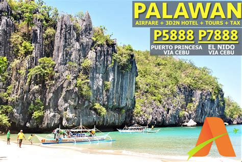 all inclusive palawan tour package with roundtrip airfare 2015