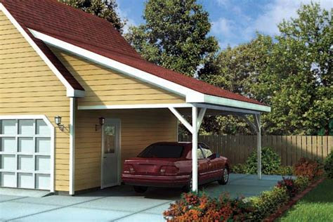 carport attached to garage attached carport plans pdf woodworking
