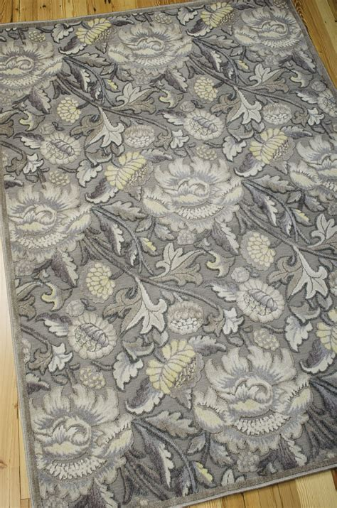 graphic rug nourison graphic illusions gil10 grey rug