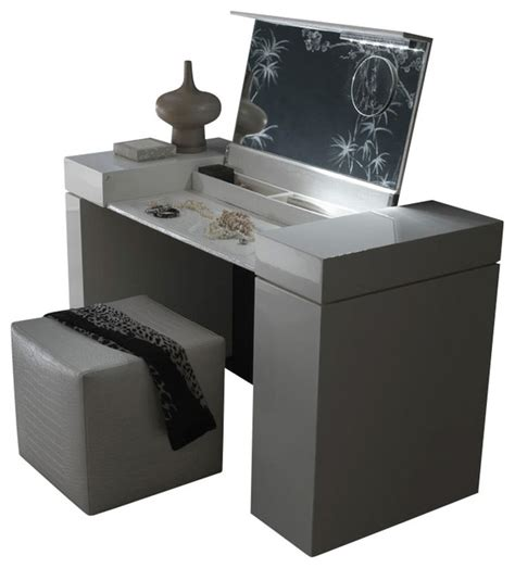 Makeup Vanity Table Modern Nightfly Dressing Table White Modern Bedroom Makeup