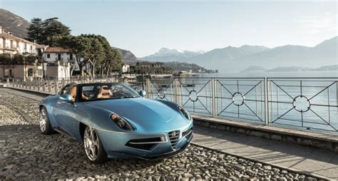 il disco volante alfa romeo disco volante spyder to make its debut in