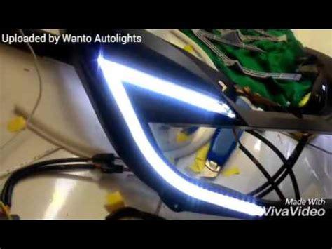Topbox Pcx Led 150 headl pcx 150 led running sein rgb