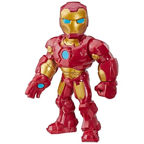marvel avengers mega mighties iron man action figures