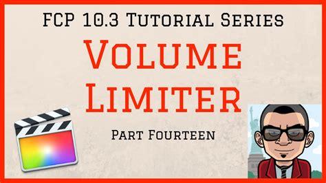 tutorial final cut pro 10 3 the sound mix final cut pro 10 3 fcpx tutorial part