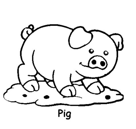 Cute Animal Coloring Pages Free Printable Pictures Animal Coloring Pages For
