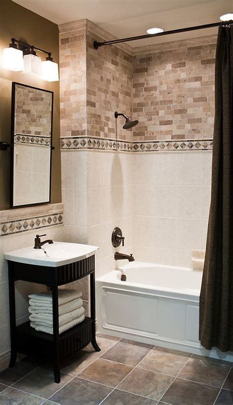 bathroom tile border ideas tile bathroom accent ideas pbandjack