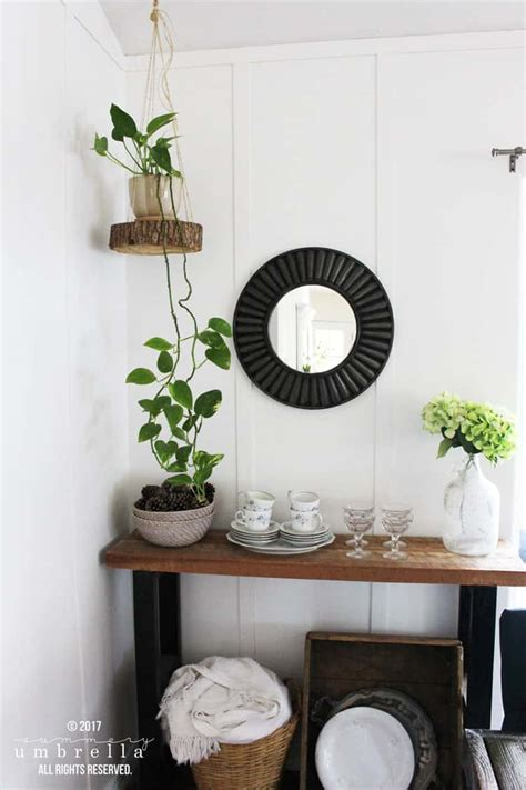 Diy Rope Hanging Planter - how to make diy hanging planter using a wood slice and