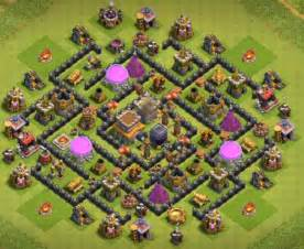 Best coc th8 hybrid bases with bomb tower 2016 2017 cocbases
