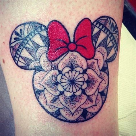 tattoo artist that do henna mandala minnie mouse done by artist yasimckim go