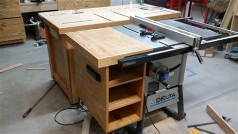 Table Saw Accessory Storage By Trevor7428 Lumberjocks
