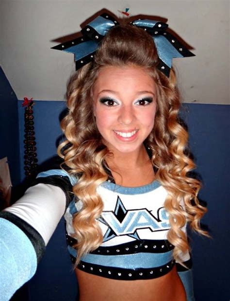 cheerleader hairstyles images 17 best ideas about cheerleader hairstyles on pinterest