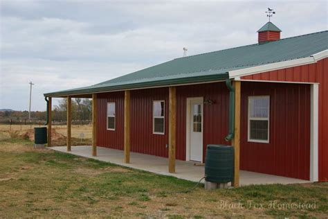 Very Simple 30 X 50 Metal Pole Barn Home In Oklahoma Hq Pole Barn House Plans And Prices Oklahoma