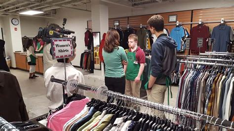 student run clothing store builds skills success starts here