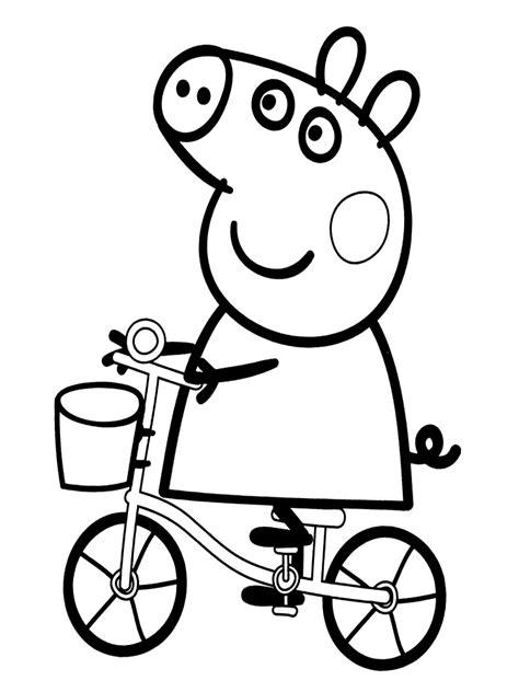 imagenes de ninas para dibujar peppa pig colorear online juegos de peppa para colorear