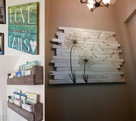 cool home decor projects    fence wood