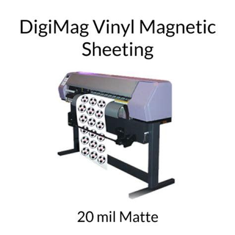 printable magnetic vinyl uk digimag vinyl inkjet printable magnet rolls 20 mil matte