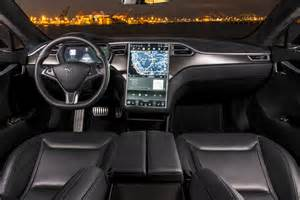 Tesla S Model Interior by Tesla Update Lets You Summon Your Car From Wherever