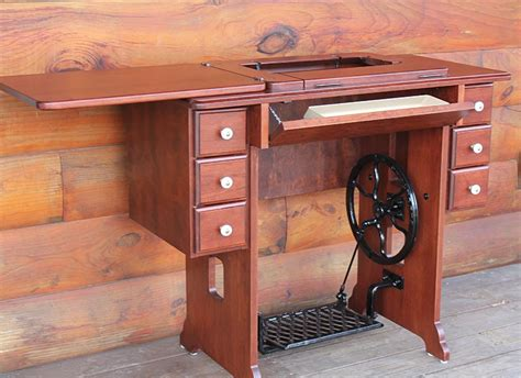 singer kitchen cabinets amish treadle sewing cabinet singer janome 712t machines