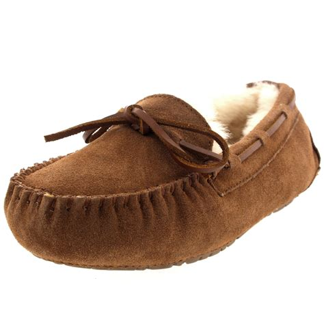 moccasins and loafers womens moccasins real suede australian sheepskin fur
