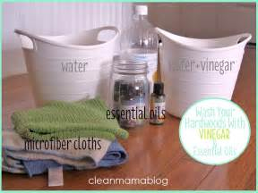 update washing hardwood floors with vinegar clean mama