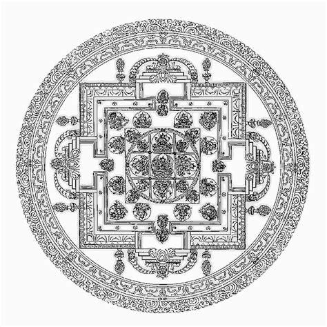 hindu mandala coloring pages guhyasamaja mandala religion mythology hindu