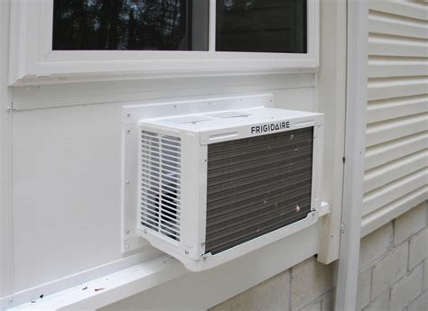 window air conditioner frame kit finished sunroom details awnings sunrooms installation