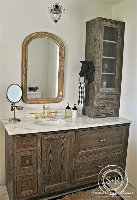 ordinary French Country Decor Ideas #2: b6b1b7193152b54ae3e8f9666663012e--farmhouse-style-bathrooms-country-style.jpg