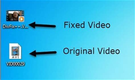 div fix how to repair corrupted or damaged avi files