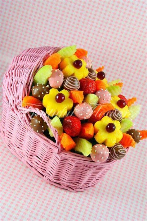 Baby Shower Fruit Basket Ideas baby shower fruit basket fruit arrangements