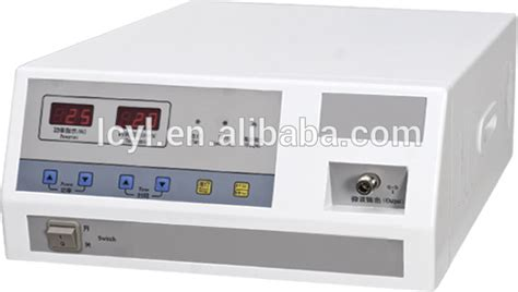 Microwave Diathermy microwave diathermy therapy machine for gynecology