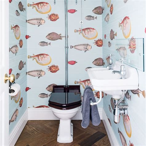 funky bathroom wallpaper ideas image mag take a tour of this reconfigured edwardian semi in london
