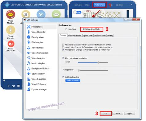 discord voice changer pc change voice in discord with vcsd 8 0 audio4fun support