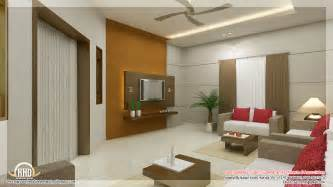 Home Internal Decoration Awesome 3d Interior Renderings Kerala House Design