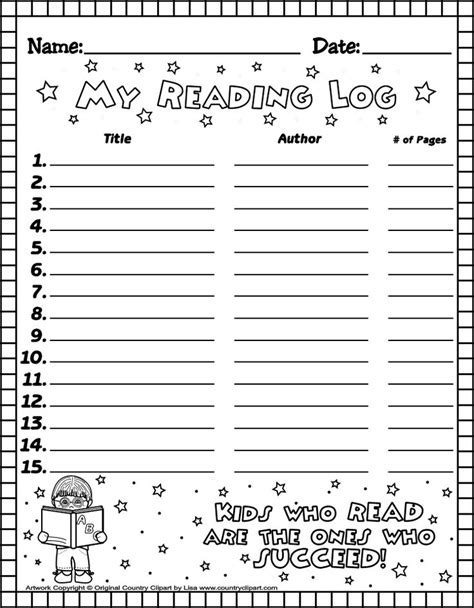 printable reading log book 19 best reading logs images on pinterest reading