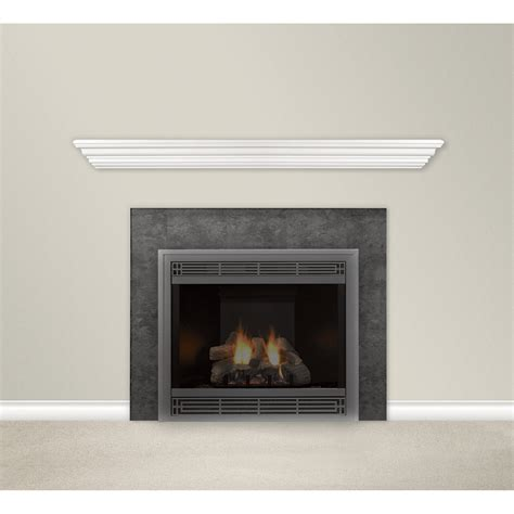 mantel shelves product white mantel shelf 60in white model hwms60w