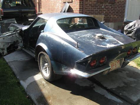1969 corvette project for sale 1969 chevrolet corvette stingray project car classic