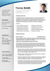 professional resume template resume cv template exles