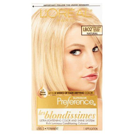 superior preference fade resistant conditioning colorant level 3 permanent 071249253625 upc l oreal superior preference les blondissimes fade resistant conditioning