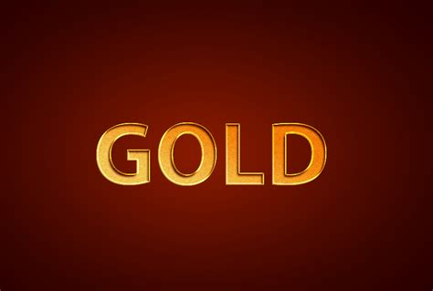 home design gold tutorial realistic gold text effect photoshop tutorials and psd