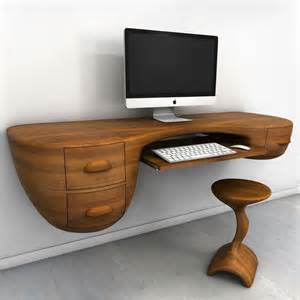 diy floating computer desk floating computer desk creative furniture design