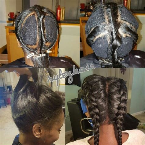 natural looking sew ins in tennessee vixen sew in by rylezhair atlanta stylist natural