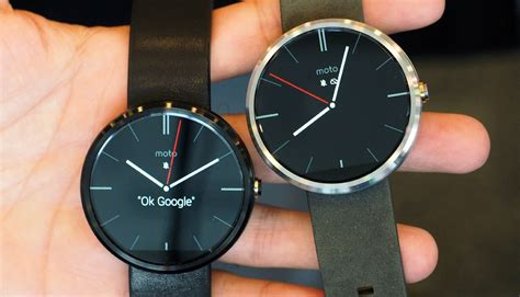 android wear moto 360 moto 360 smartwatch makes an appearance at i o