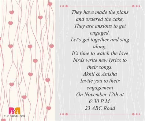 Wedding Announcement Phrases by Engagement Invitation Wording Top 10 Beautiful Invitation