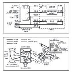 nutone exhaust fan wiring diagram wiring diagram